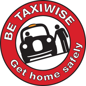 Logo for the UK Taxiwise campaign